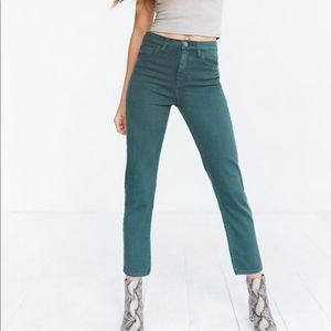 BDG Urban Outfitters high rise girlfriend jeans